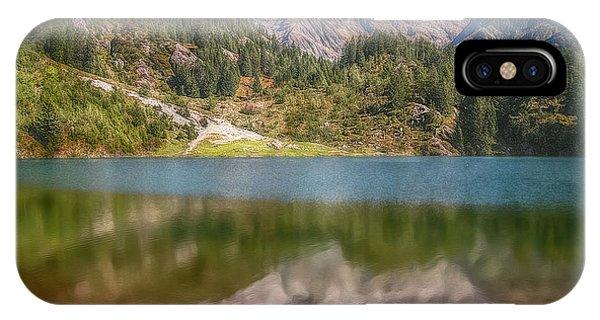 Swiss Tarn IPhone Case