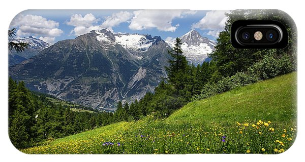 Switzerland Bietschhorn IPhone Case