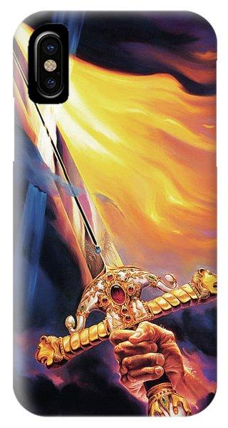 Sword Of The Spirit Phone Case by Jeff Haynie