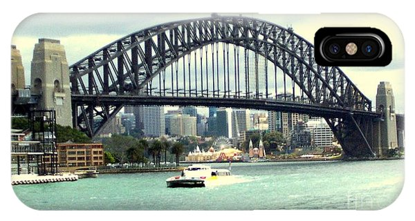 Sydney Bridge Phone Case by John Potts