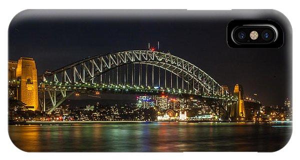 Sydney Harbour Bridge 2 Phone Case by Dasmin Niriella