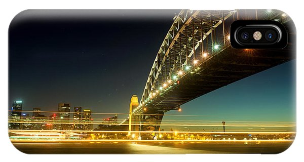 IPhone Case featuring the photograph Sydney Harbour Bridge by Yew Kwang