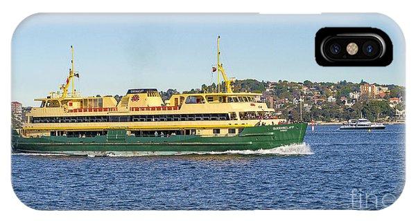 Sydney Harbour Ferry IPhone Case