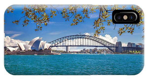 Sydney Harbour Skyline 2 IPhone Case