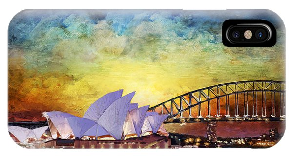 Fossil iPhone Case - Sydney Opera House by Catf