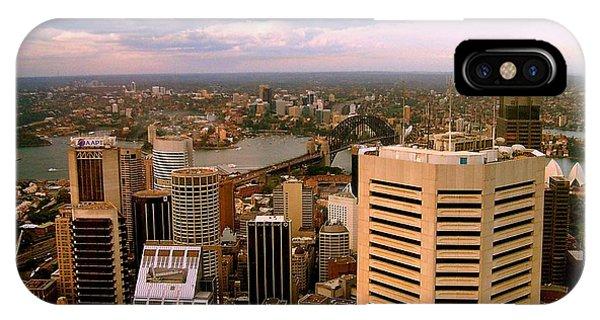Sydney Skyline Phone Case by John Potts