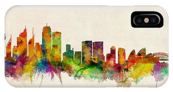 Sydney Skyline IPhone Case