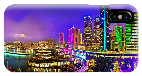 Sydney Vivid Festival IPhone Case