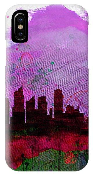 Sydney Watercolor Skyline 2 IPhone Case
