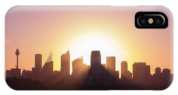 Sydney's Evening IPhone Case