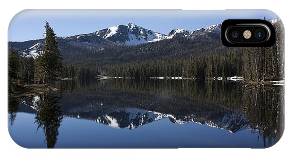 Sylvan Lake Reflection - Yellowstone IPhone Case