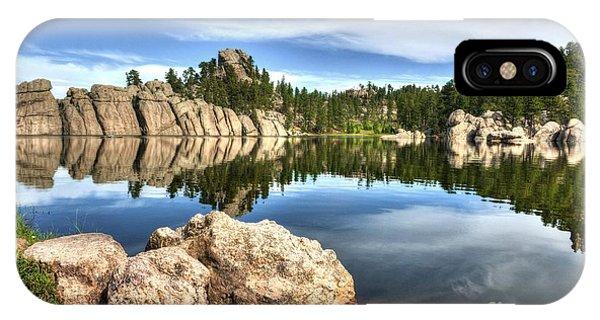 Sylvan Lake Reflections 2 IPhone Case