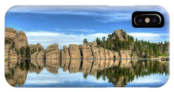 Sylvan Lake Reflections IPhone Case