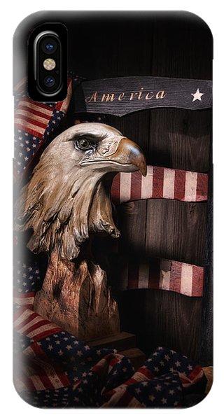 Proud iPhone Case - Symbol Of America Still Life by Tom Mc Nemar