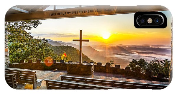 Appalachian Mountains iPhone Case - Symmes Chapel Sunrise  by Anthony Heflin