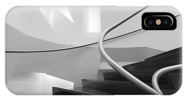 Staircase iPhone Case - Symphony by Filipe P Neto
