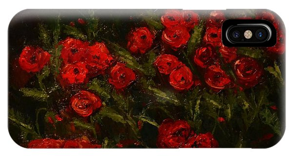 Symphony In Coquelicot IPhone Case