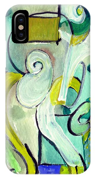 Symphony In Green IPhone Case