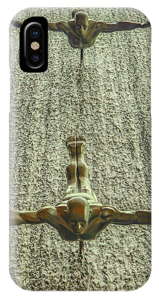 Synchronized Divers IPhone Case