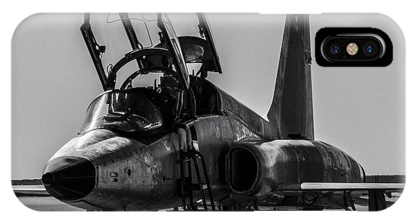 T-38 Talon Black And White IPhone Case