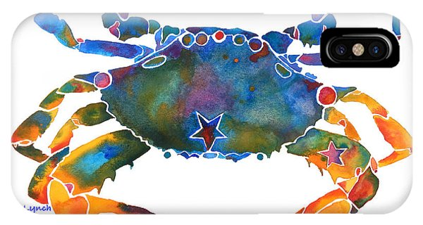 Color Me Crab E  IPhone Case