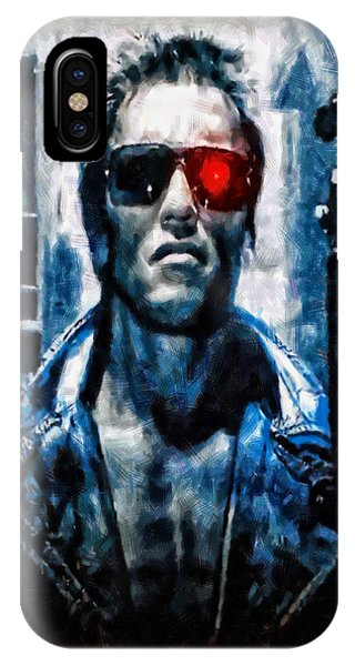 T800 Terminator IPhone Case