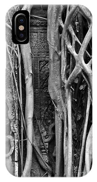 Ta Prohm Roots And Stone 09 IPhone Case