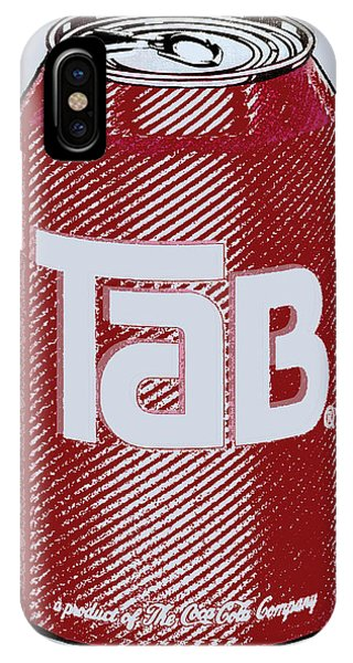 Tab Ode To Andy Warhol IPhone Case