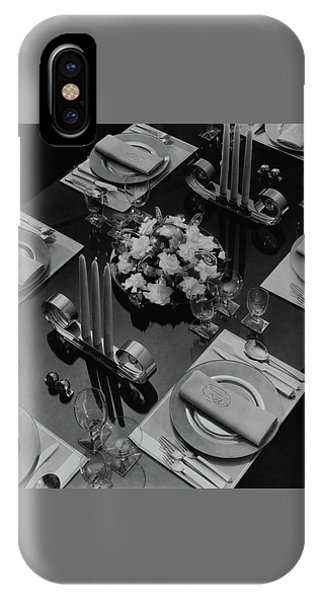 Table Setting IPhone Case