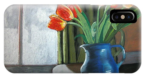 Table Top Tulips IPhone Case
