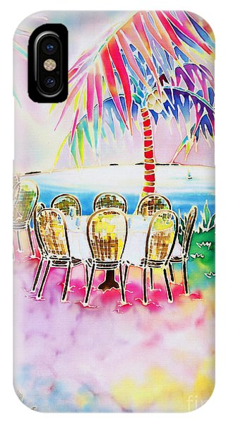 Tables On The Beach IPhone Case