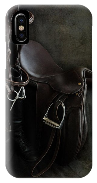 Tack And Boots IPhone Case