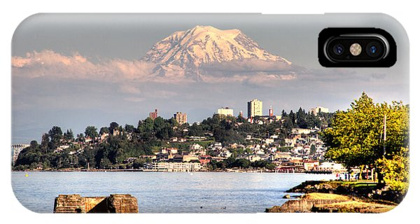 Tacoma City Skyline IPhone Case