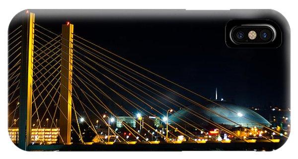 Tacoma Dome And Bridge IPhone Case