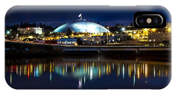 Tacoma Dome Reflections IPhone Case