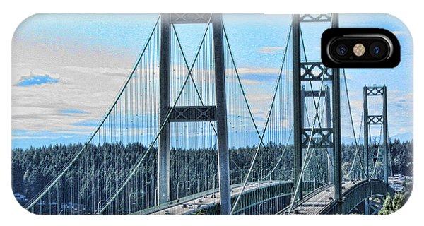 Tacoma Narrows Bridge 51 IPhone Case