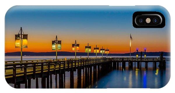 Tacoma Washington IPhone Case