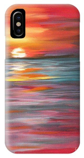 Tahitian Sunset IPhone Case