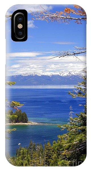 Tahoe Blue IPhone Case