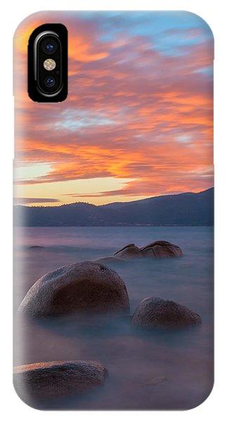Tahoe Burning IPhone Case