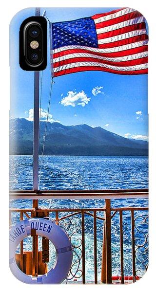 Tahoe Queen Lake Tahoe By Diana Sainz IPhone Case