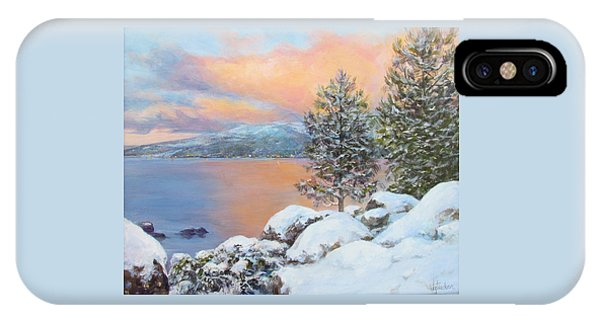 Tahoe Winter Colors IPhone Case