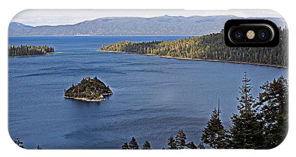 Lake Tahoe's Emerald Bay IPhone Case