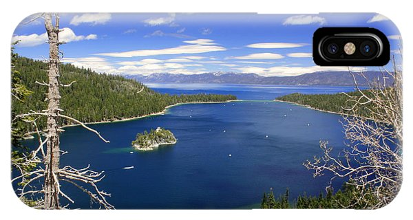 Tahoe's Emerald Bay IPhone Case