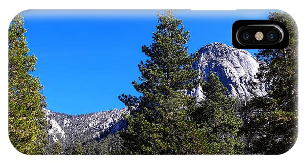 Tahquitz Rock - Lily Rock IPhone Case