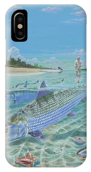 Tailing Bonefish In003 IPhone Case