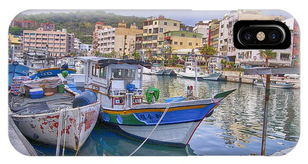 Taiwan Boats IPhone Case