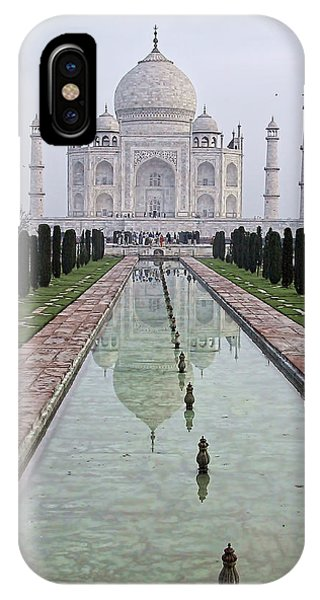 Taj Mahal Early Morning IPhone Case
