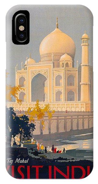 Taj Mahal Visit India Poster Drawing by Jamey Scally