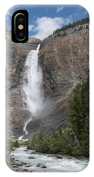 Takakkaw Falls IPhone Case